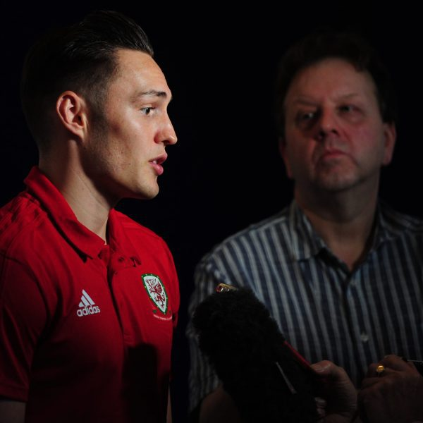 Wales Press Conference at St Fagans in Cardiff, Wales, UK.